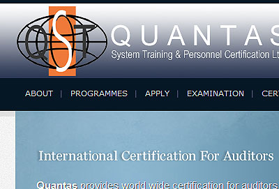 Quantas System Training And Personal Certifications Pvt. Ltd., UK